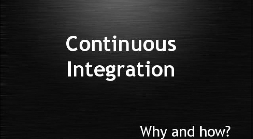 Continuous Integration – Why and how? (Dutch PHP Conference 2010 – Unconference Track)