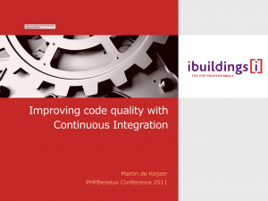 Improving code quality with continuous integration v2