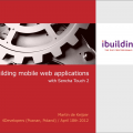 Building mobile web applications with Sencha Touch 2